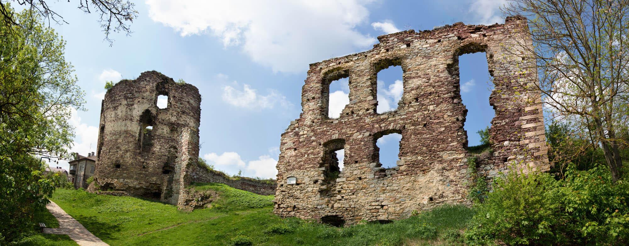 Руїни Бучацького замку