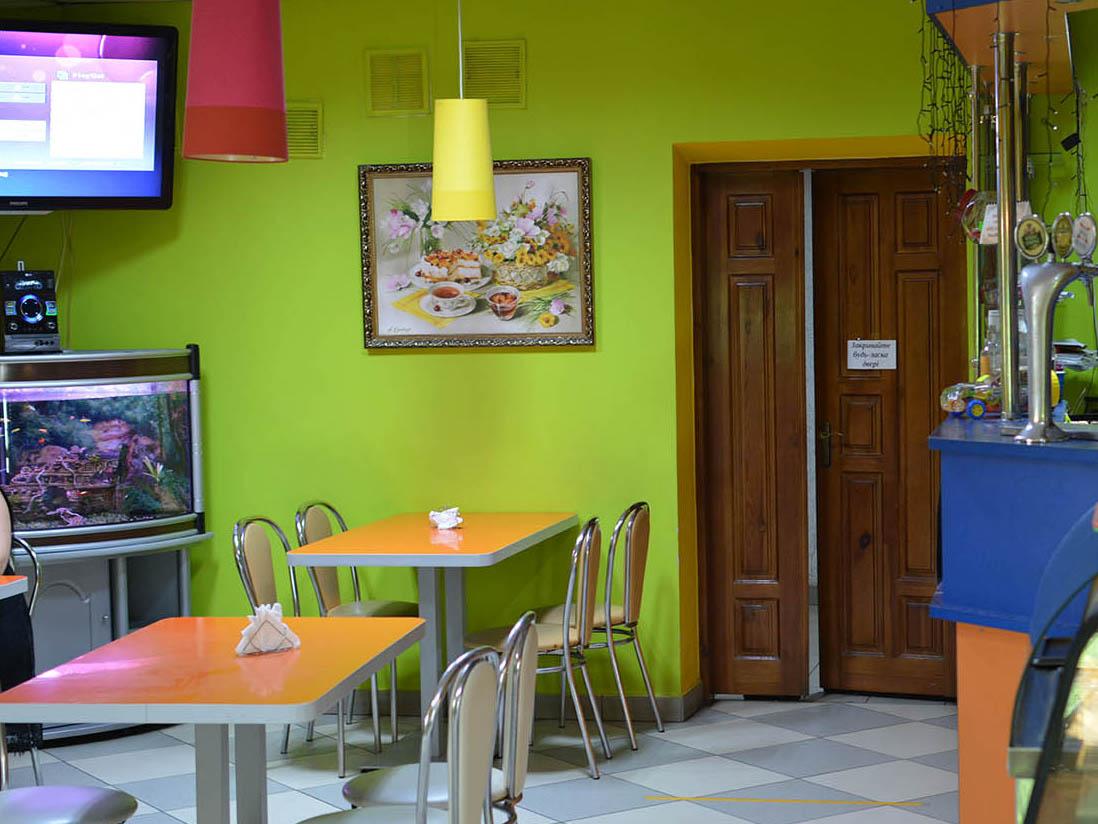 Кафе Вікторія Бучач